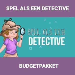 spel als een detective budgetpakket